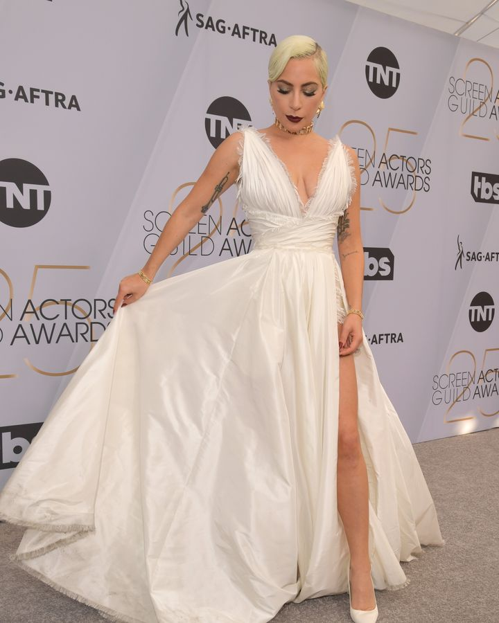 Lady Gaga nos Screen Actors Guild Awards