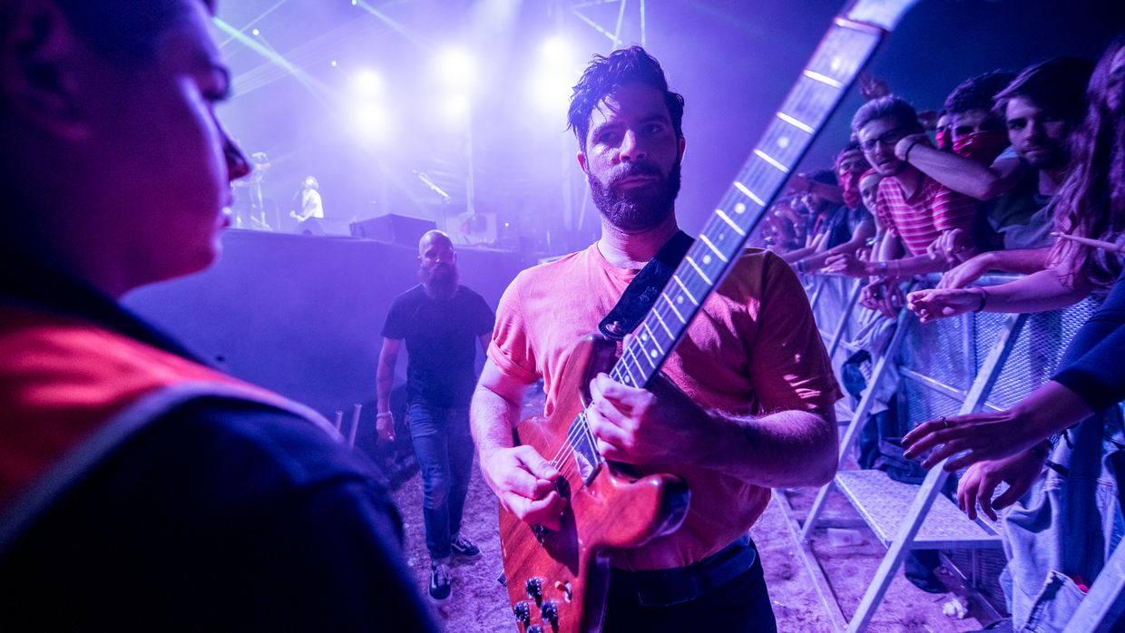 Foals no Vodafone Paredes de Coura'17