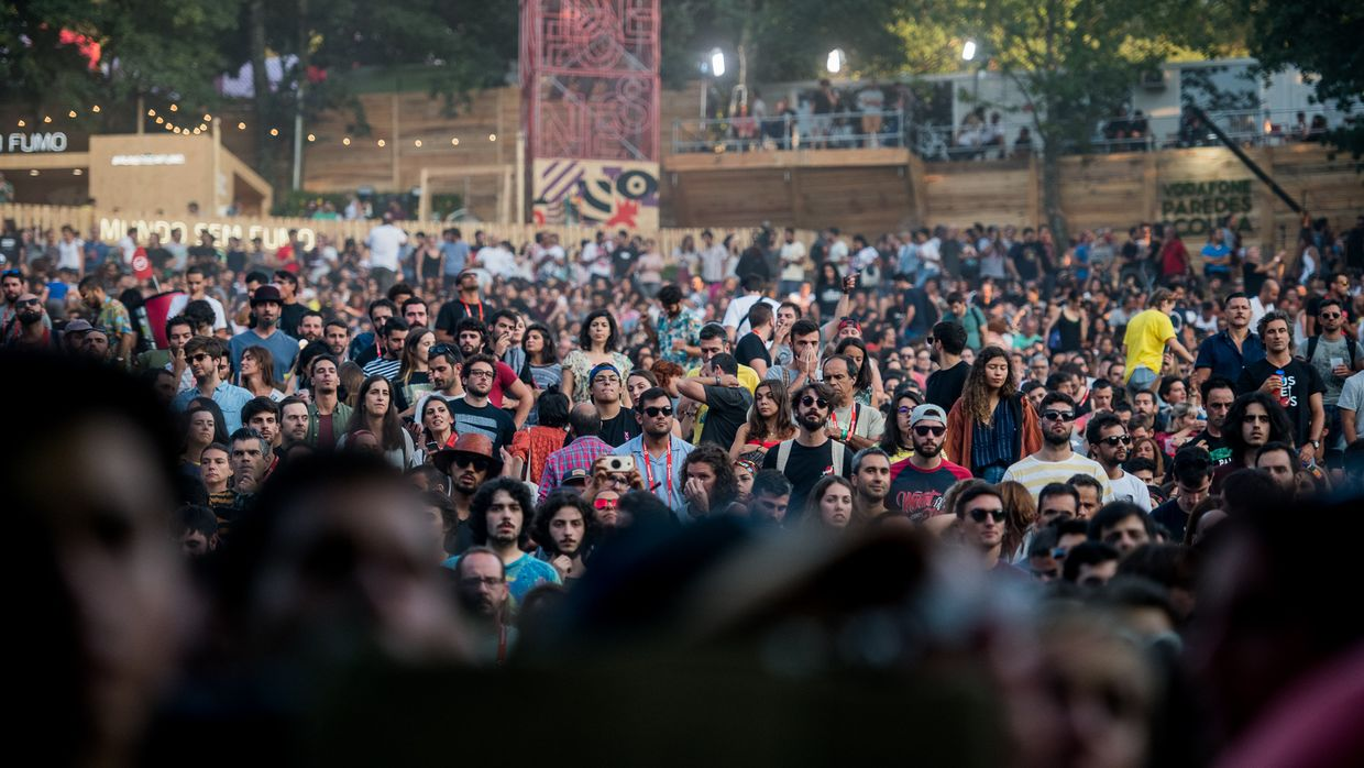 Curtis Harding no Vodafone Paredes de Coura 2018