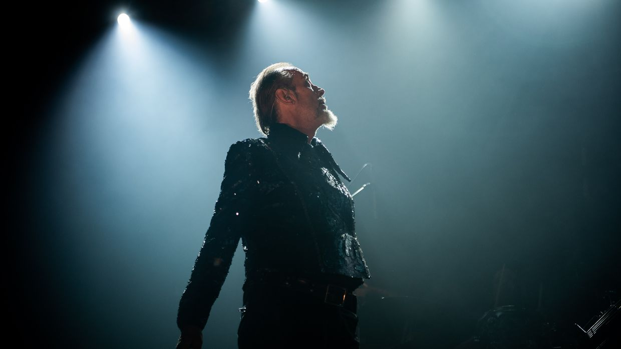 Peter Murphy 40 Years of Bauhaus no LX Factory, Lisboa