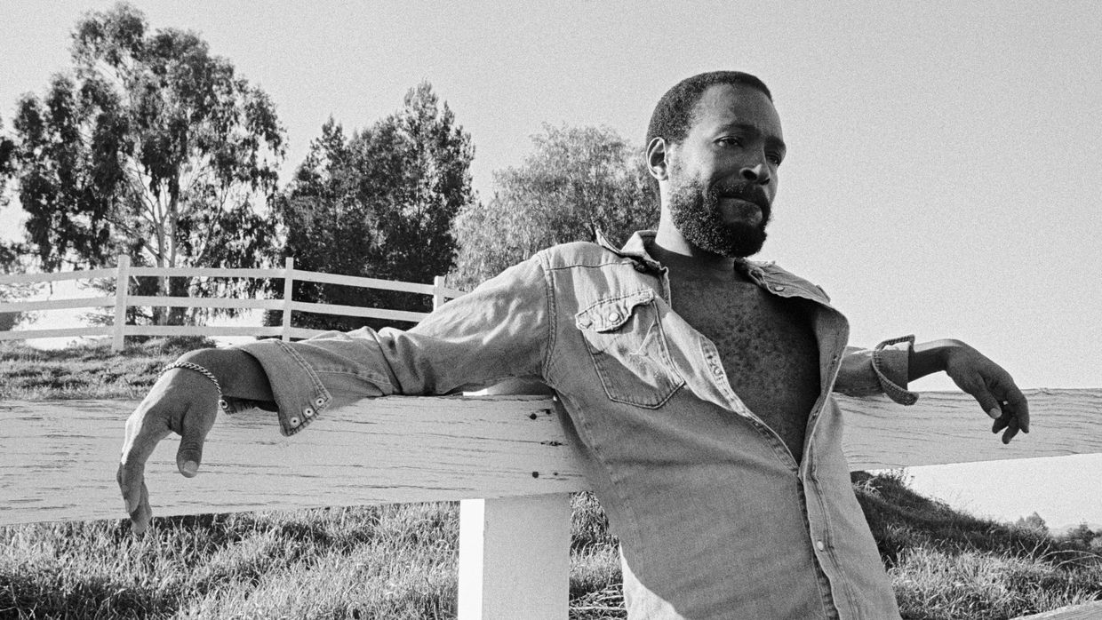Marvin Gaye em Topanga Canyon, Los Angeles, 1978