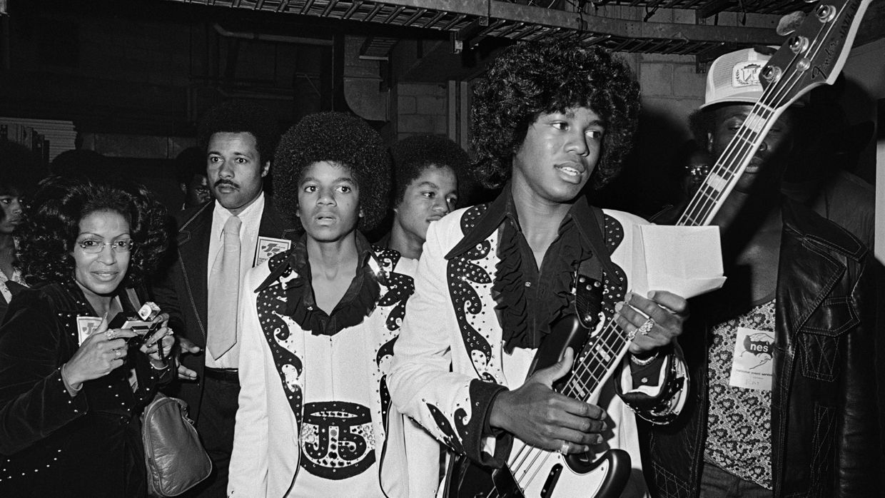 The Jackson 5 no The Forum, Inglewood, Califónia, Junho 1974