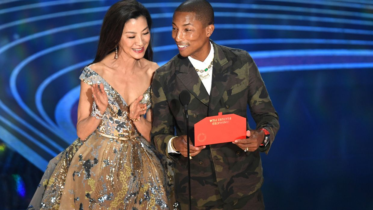 Michelle Yeoh e Pharrell Williams também