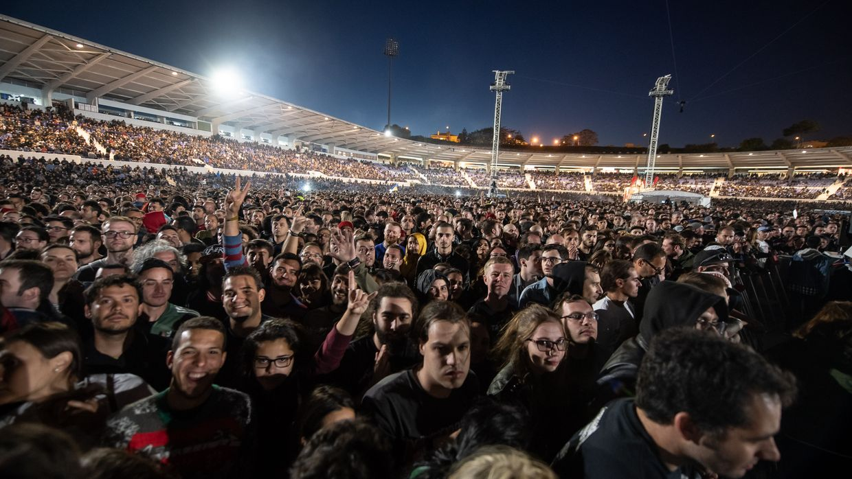 Metallica no Estádio do Restelo, Lisboa