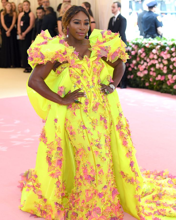 A tenista Serena Williams na Met Gala 2019