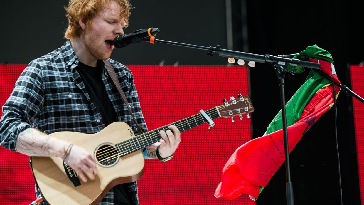 Ed Sheeran no Rock in Rio Lisboa 2014