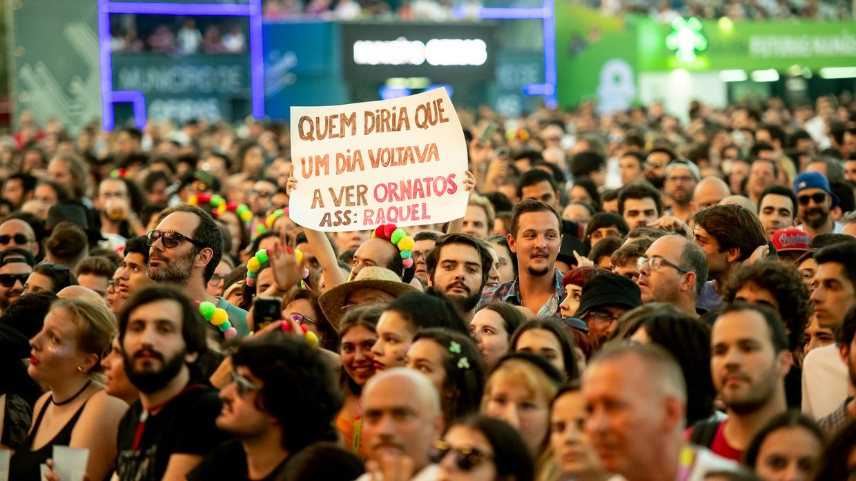 Ornatos Violeta no NOS Alive 2019