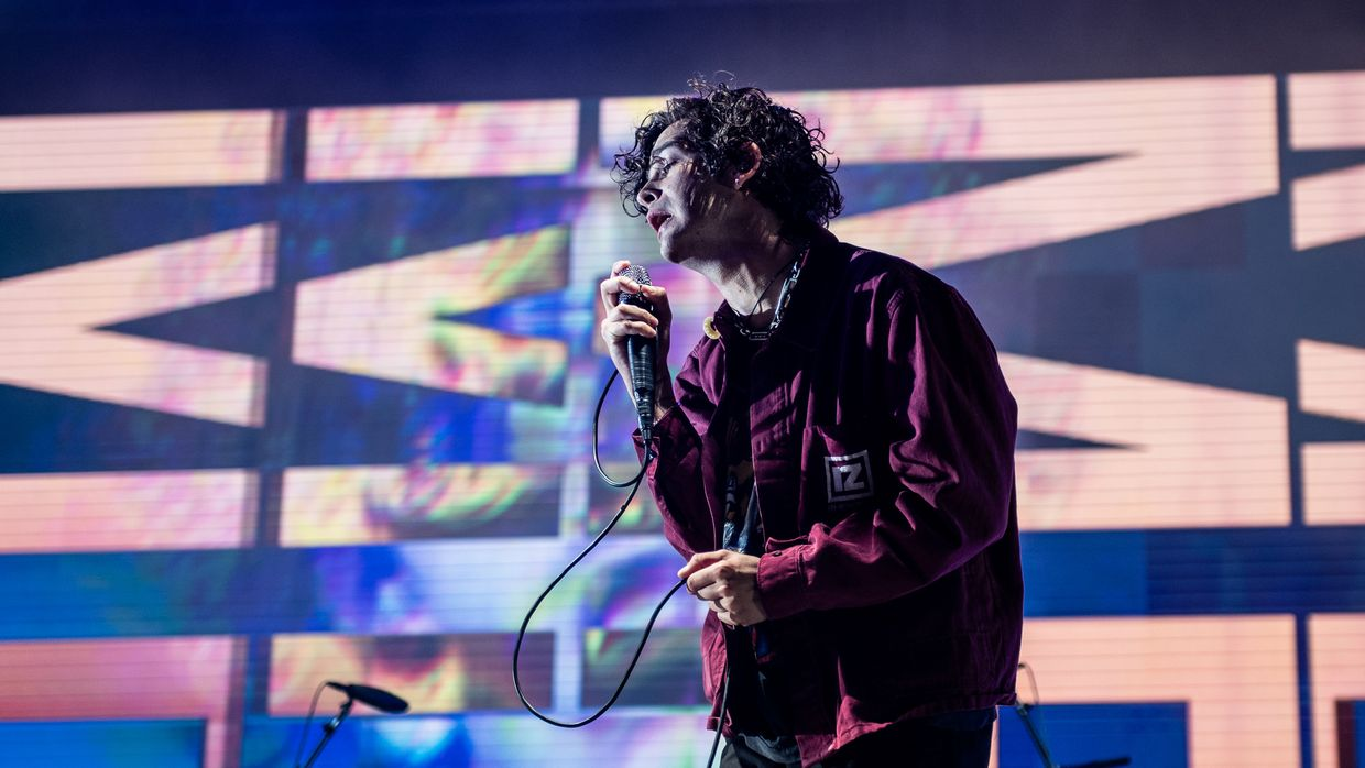 The 1975 no Super Bock Super Rock 2019