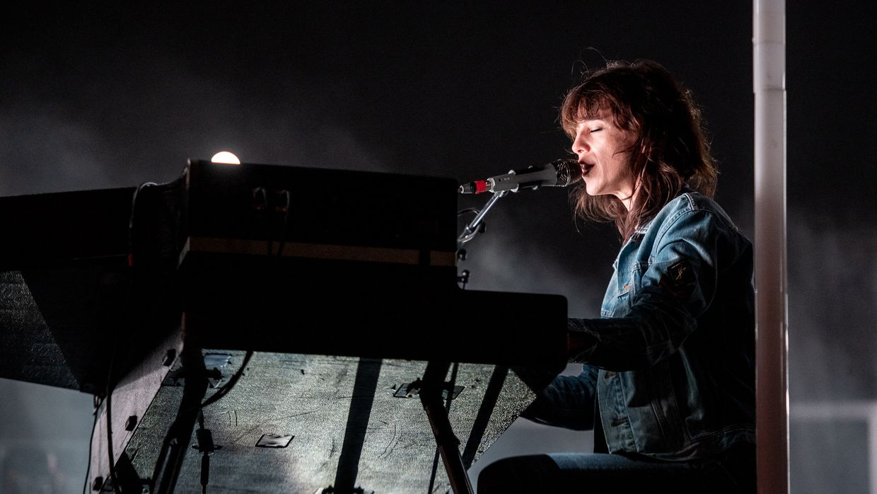 Charlotte Gainsbourg no Super Bock Super Rock 2019