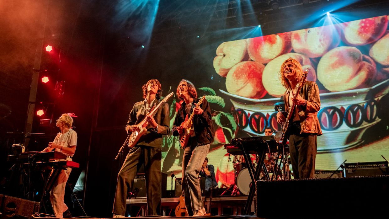 Parcels no Vodafone Paredes de Coura 2019