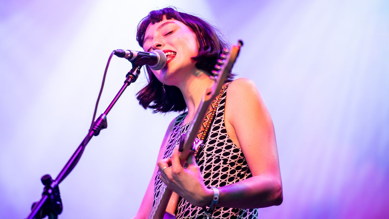 Stella Donnelly no Vodafone Paredes de Coura 2019