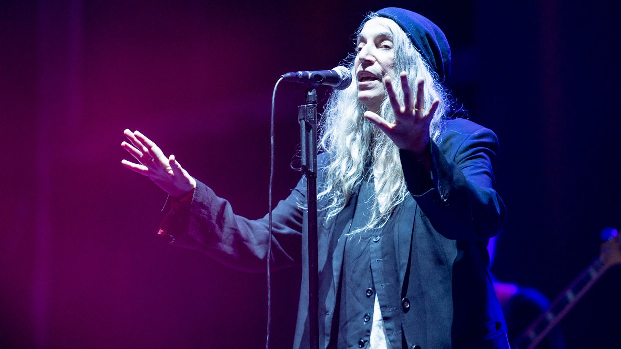 Patti Smith no Festival Paredes de Coura 2019