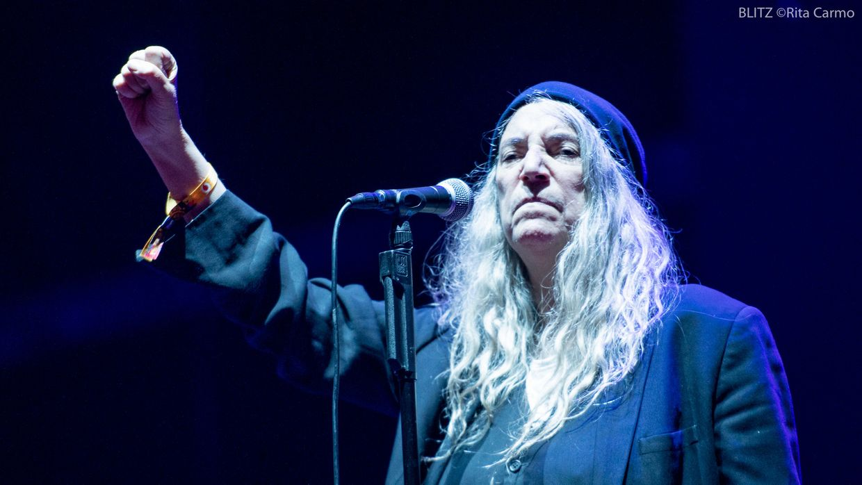 Patti Smith no Vodafone Paredes de Coura