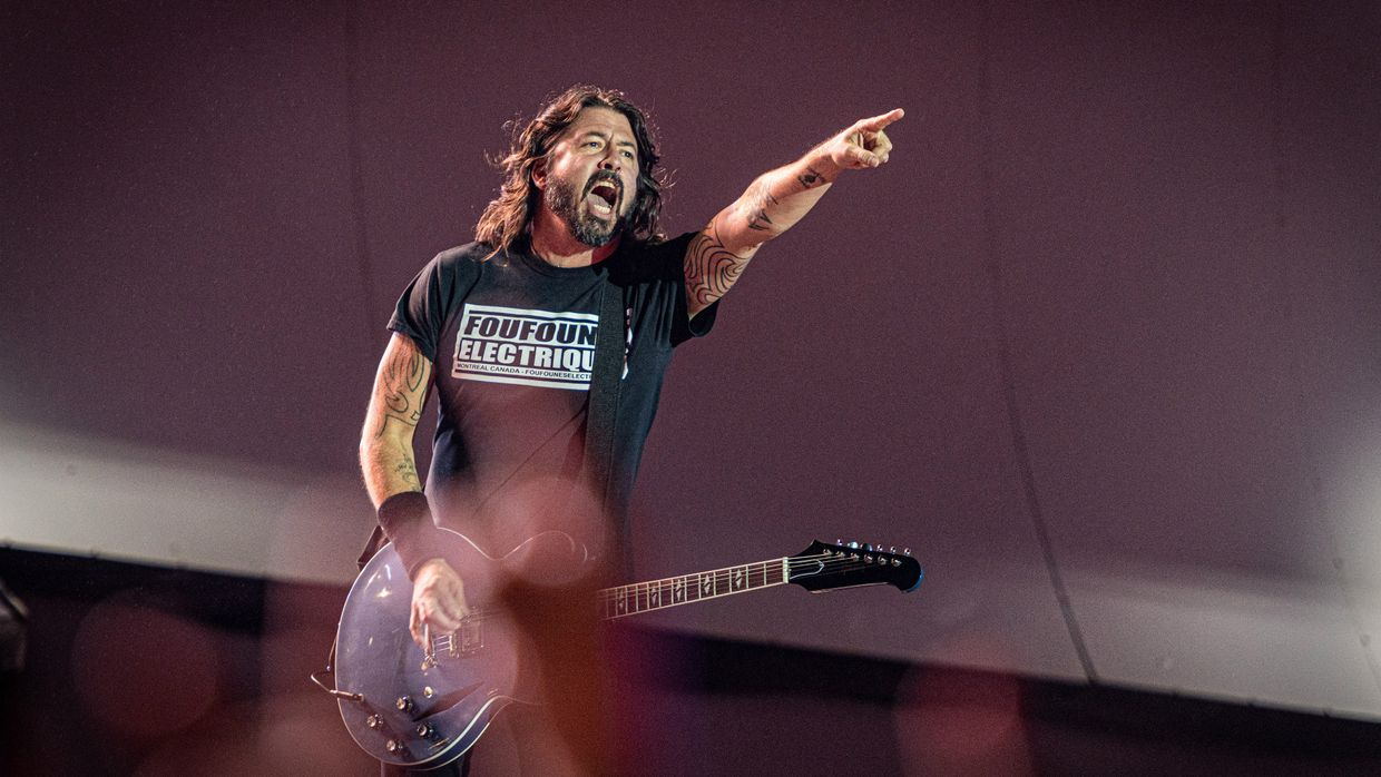 Foo Fighters no Rock in Rio Brasil