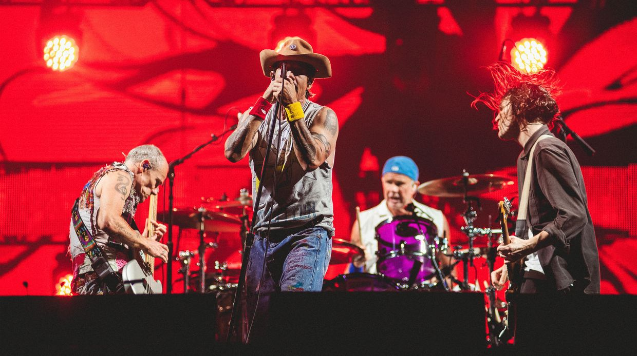 Red Hot Chili Peppers no Rock in Rio Brasil
