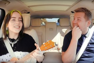 Billie Eilish no Carpool Karaoke: 'Bad Guy', Justin Bieber e uma aranha