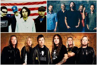 Foo Fighters, Iron Maiden e Rage Against the Machine nomeados para o Rock and Roll Hall of Fame