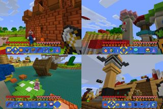 Minecraft chega à Nintendo Switch