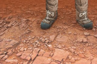 Rush hour on Mars and ethical brakes in exploring worlds that do not belong to us