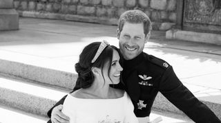 As fotografias oficiais do casamento de Harry e Meghan