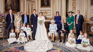 Reveladas as fotografias oficiais do casamento da princesa Eugenie e Jack Brooksbank