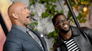 Kevin Hart imita The Rock e a internet 'explode'