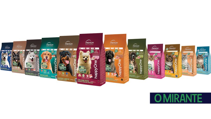 Nova marca happyOne PREMIUM com ingredientes naturais para cães e gatos