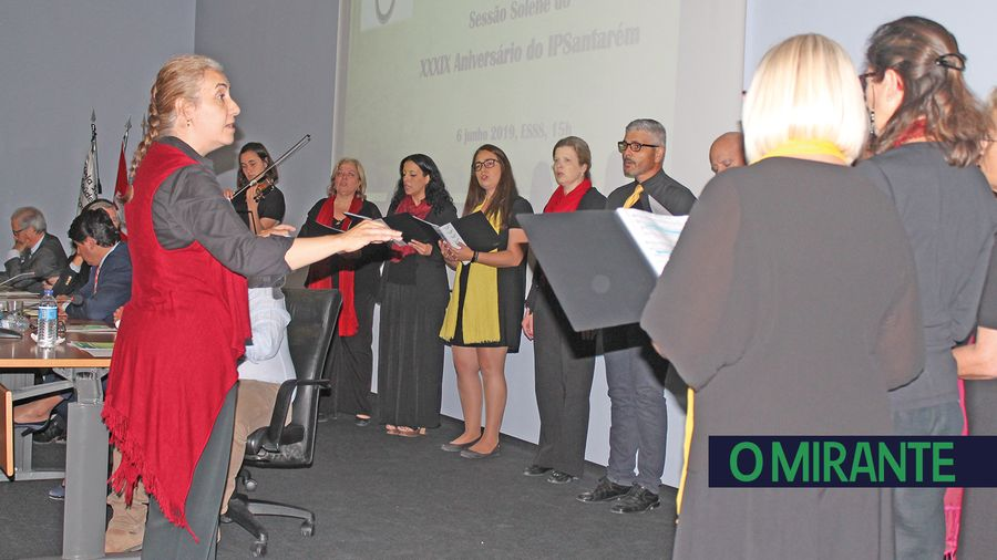 O Coro do Instituto Politécnico de Santarém