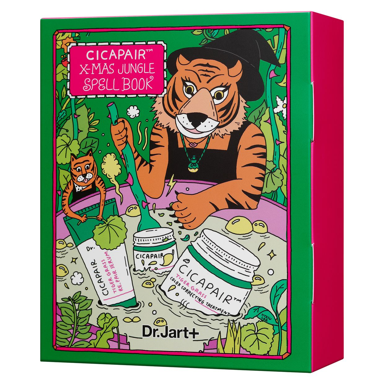 Kit hidratante de 'Tiger Grass', 39€ - Dr.Jart+