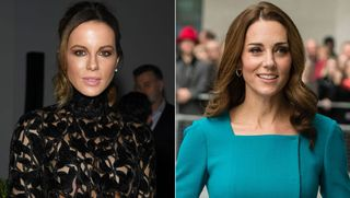 Insólito: Kate Beckinsale é confundida com Kate Middleton no hospital