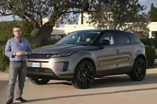 Ao volante do Range Rover Evoque e do Mercedes Classe B