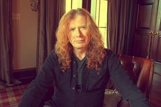 Dave Mustaine dos Megadeth diagnosticado com cancro