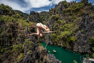 Red Bull Cliff Diving - El Nido, Philippines