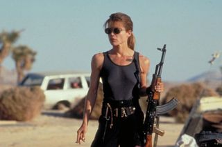 Linda Hamilton will be back
